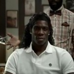 Mario Balotelli's hair commercial at the barbershop getting hairstyles by Nike