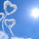 Clouds in the sky for an article on the 5 best male hair products for Valentine day