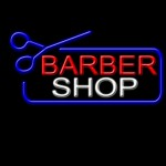 A babershop sign for the men's hair guide which is all about hair care and hair grooming for males