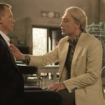Picture of the hairstyles of Daniel Craig and Javier Bardem for the James Bond movie Skyfall