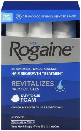 Picture of the hair loss product Rogaine for Men Hair Regrowth Treatment for a review