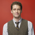 Matthew Morrison with his hair in a classic businessman hairstyle and haircut