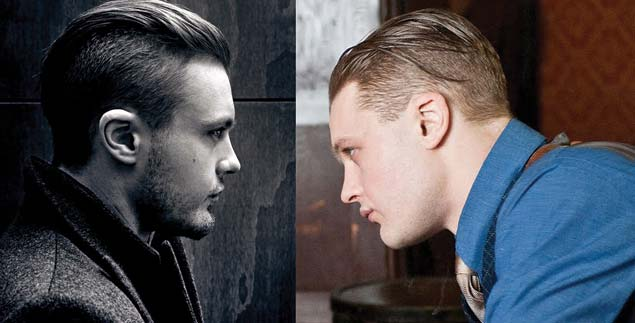 The Undercut hairstyle for straight long hair