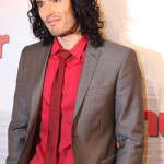 Russell Brand with Shoulder Length hair