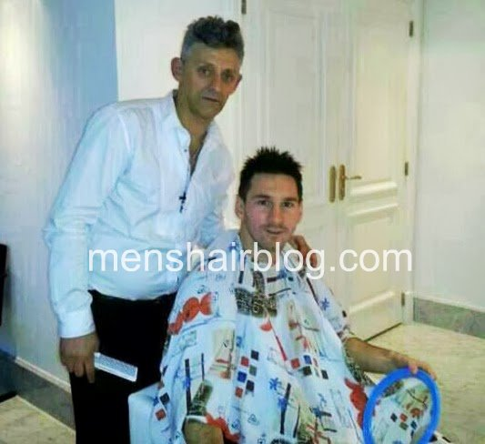 Leo Messi's New Haircut and Style: Shaggy Hairstyle!