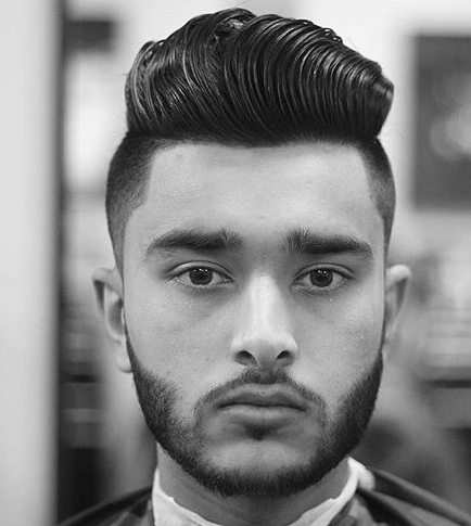 Pompadour Haircut Length : Disconnected haircut guide for men mens hair blog