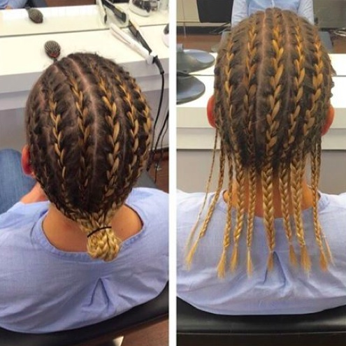Fantastic Cornrows Hairstyle For Men How To Style And Get Men39S Hair Blog Hairstyles For Women Draintrainus