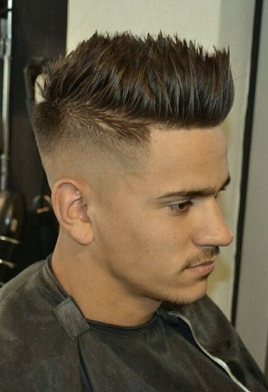 Magnificent How To Style Spiky Hair Tips Haircut And Products Men39S Hair Blog Short Hairstyles Gunalazisus