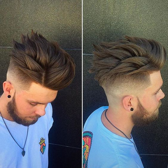 Fabulous How To Style Spiky Hair Tips Haircut And Products Men39S Hair Blog Short Hairstyles Gunalazisus