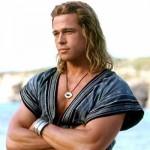 Brad Pitt with blonde long hair for men