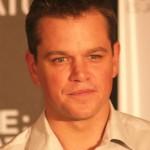 Matt Damon with an Ivy League haircut for a side part hair style