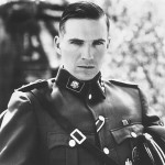The Undercut hairstyle done with long hair on a SS german soldier.