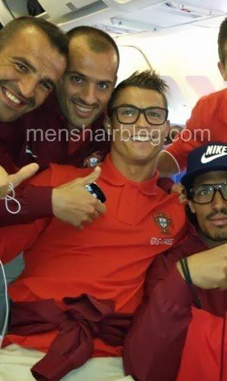 Cristiano Ronaldo Undercut Quiff New Hairstyle Men S